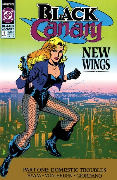 Black Canary Vol. 1 – 4 (Collection) (1991-2016)