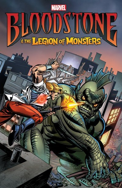 Bloodstone & the Legion of Monsters (TPB) (2017)