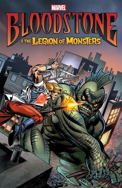 Bloodstone & the Legion of Monsters (TPB) (2017)