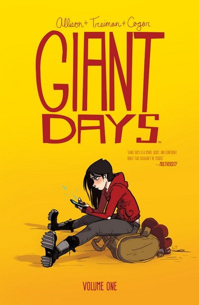 Giant Days Vol. 1 – 14 (TPB) (2015-2020)