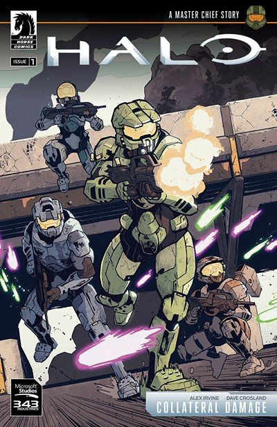 Halo – Collateral Damage #1 (2018)