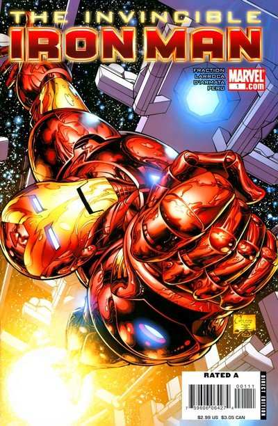 Invincible Iron Man Vol. 1 #1 – 33 + 500 – 527 + Annuals (2008-2012) (Digital)
