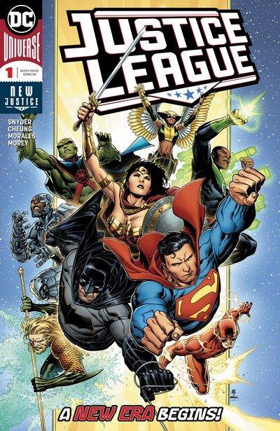 Justice League #1 (2018)