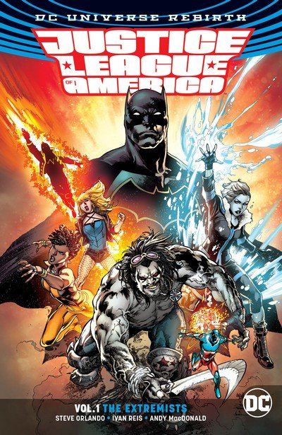 Justice League of America Vol. 5 (Rebirth TPB) – Vol. 1 – 5 (2017-2018)