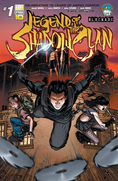 Legend of the Shadow Clan #1 – 5 + TPB (2013-2014)