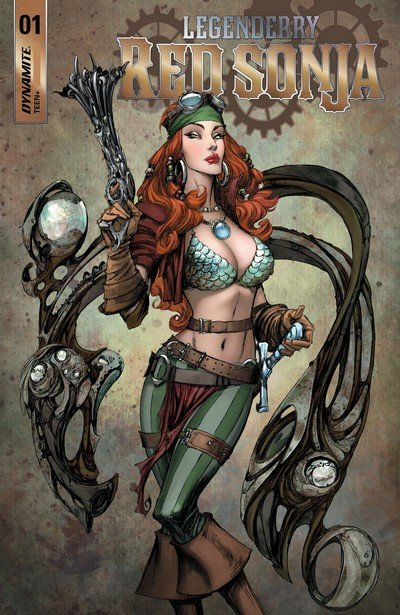 Legenderry – Red Sonja #1 – 5 (2018)