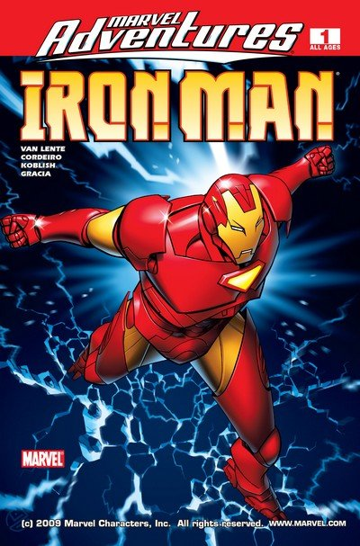 Marvel Adventures Iron Man #1 – 13 (2007-2008)