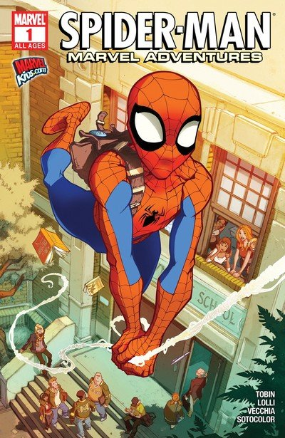 Marvel Adventures Spider-Man Vol. 2 #1 – 24 (2010-2012)