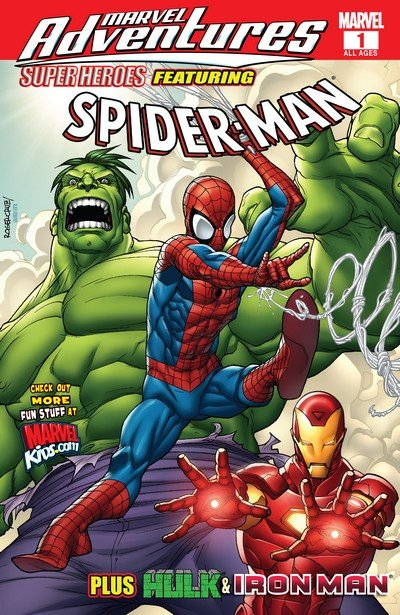 Marvel Adventures Super Heroes Vol. 1 #1 – 21 (2008-2010) (Digital)