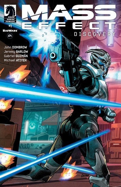 Mass Effect – Discovery #1 – 4 (2017)
