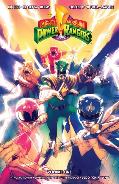 Mighty Morphin Power Rangers Vol. 1 – 5 (TPB) (2016-2018)