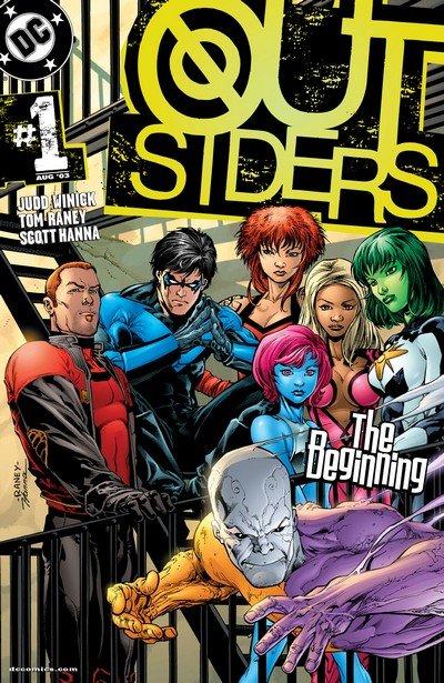 Outsiders 2003 series # 19 near mint comic book
