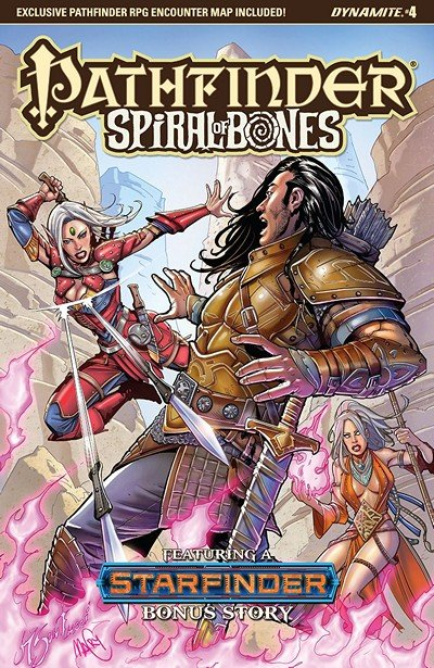 Pathfinder – Spiral Of Bones #4 (2018)
