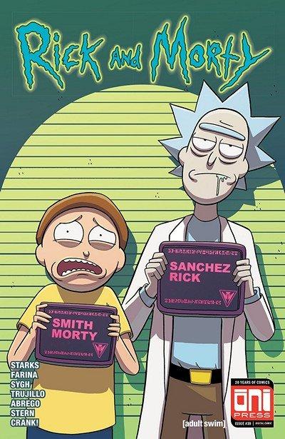 Rick And Morty #39 (2018)