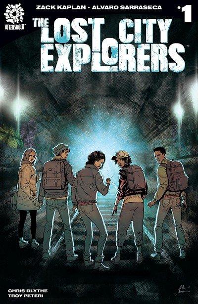 The Lost City Explorers #1 (2018)