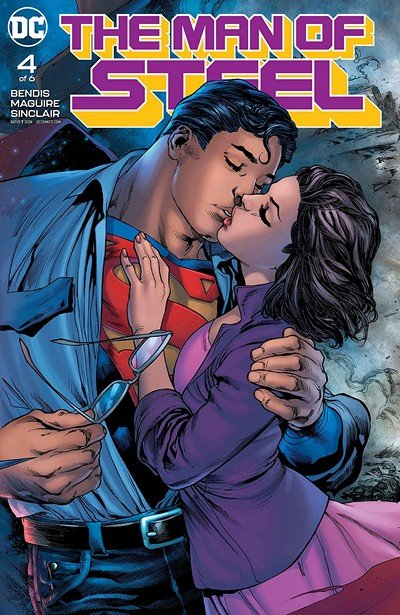 The Man Of Steel #4 (2018)