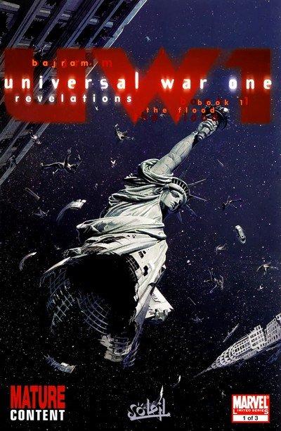 Universal War One – Revelations #1 – 3 (2009)