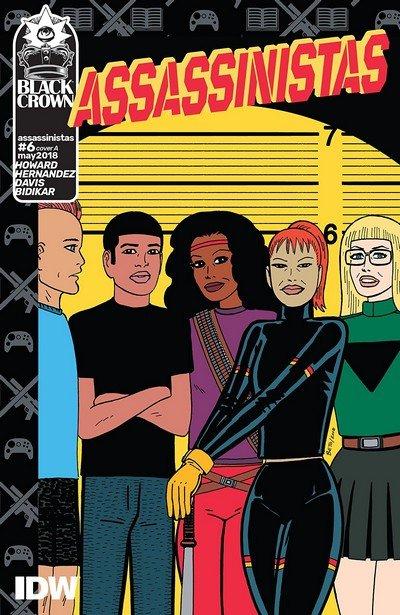 Assassinistas #6 (2018)