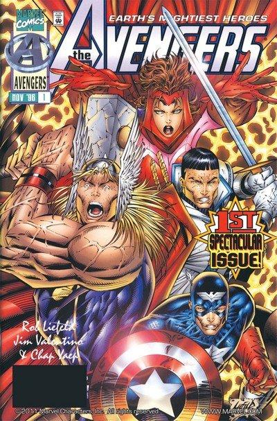 Avengers Vol. 2 #1 – 13 + TPB (1996-1997 + 2006)
