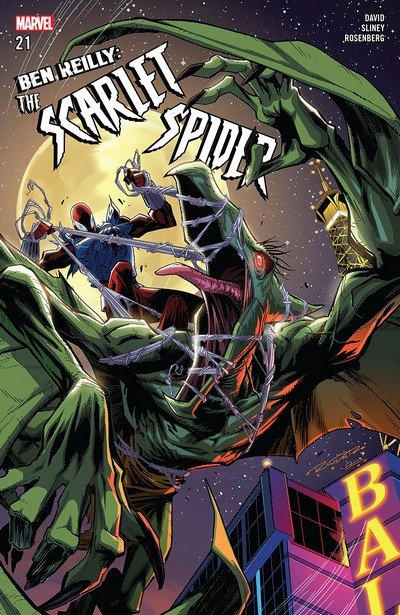 Ben Reilly – The Scarlet Spider #21 (2018)