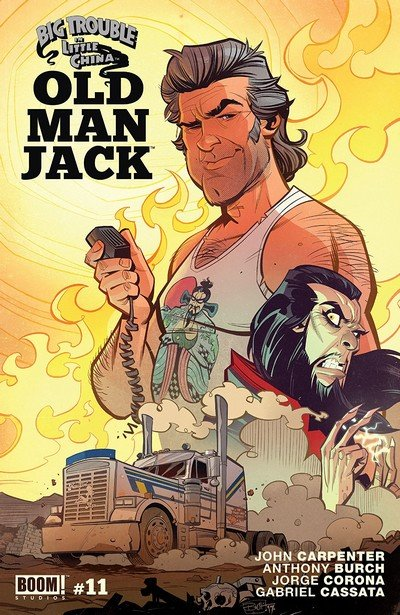 Big Trouble In Little China – Old Man Jack #11 (2018)