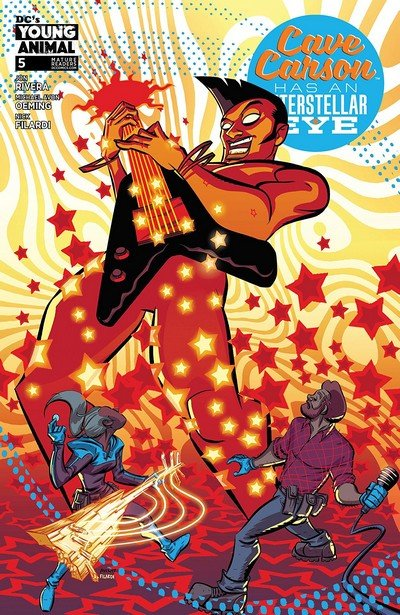 Cave Carson Has An Interstellar Eye #5 (2018)