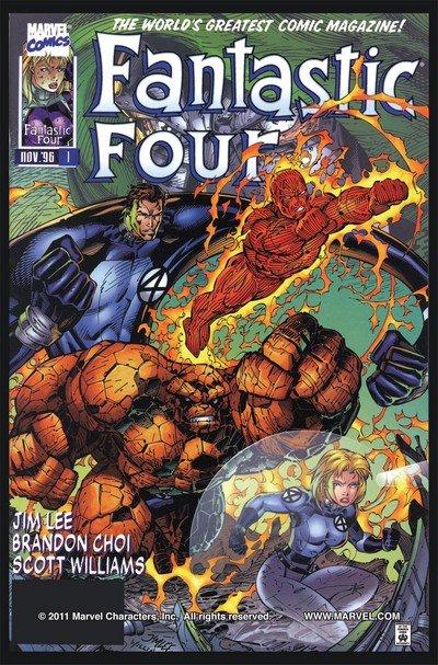 Fantastic Four Vol. 2 #1 – 13 (1996-1997)