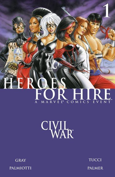 Heroes for Hire Vol. 2 #1 – 15 (2006-2007)