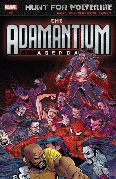 Hunt For Wolverine – Adamantium Agenda #3 (2018)
