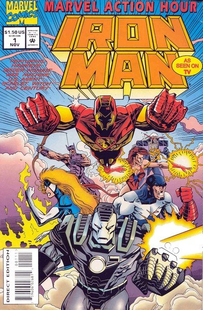 Marvel Action Hour – Iron Man #1 – 8 (1994-1995)