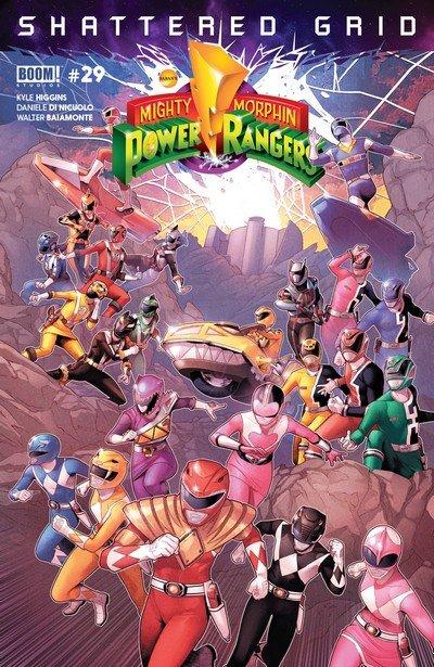 Mighty Morphin Power Rangers #29 (2018)
