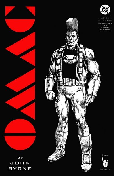 OMAC – One Man Army Corps #1 – 4 (1991)
