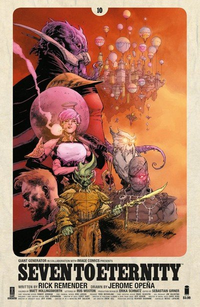 Seven To Eternity #10 (2018)
