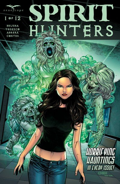 Spirit Hunters #1 – 12 (2016-2018)
