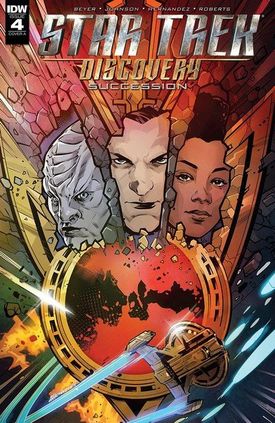 Star Trek-Discovery – Succession #4 (2018)