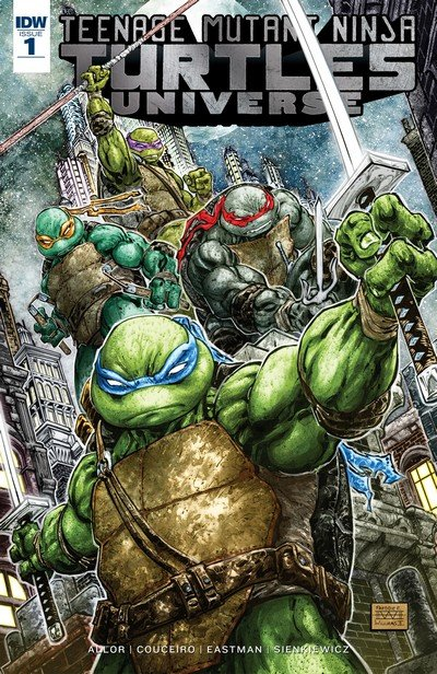 Teenage Mutant Ninja Turtles Universe #1 – 23 + TPB Vol. 1 – 2 (2016-2018)