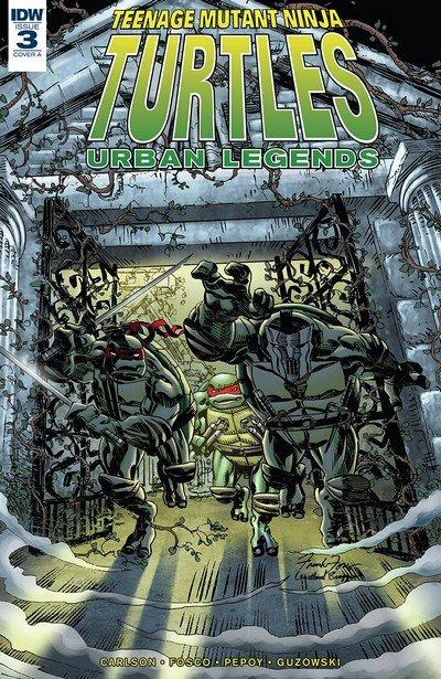 Teenage Mutant Ninja Turtles – Urban Legends #3 (2018)