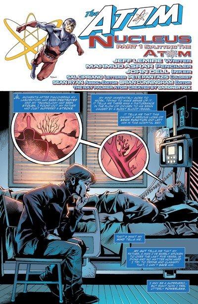 The Atom – Nucleus (Story Arc) (2010-2011)