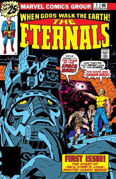The Eternals #1 – 19 + Annual (1976-1978)