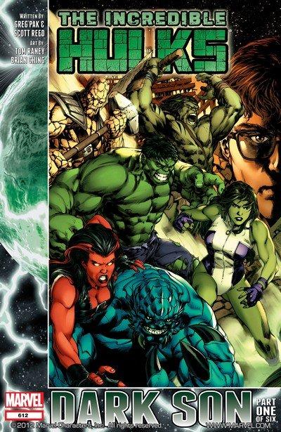 The Incredible Hulks #612 – 635 + TPBs (2010-2011)