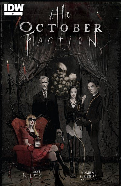 The October Faction #1 – 18 + TPB Vol. 1 – 3 (2014-2016)