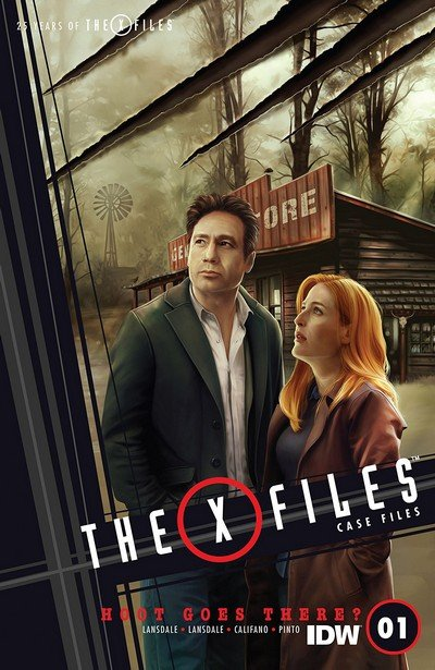 The X-Files – Case Files-Hoot Goes There #1 (2018)