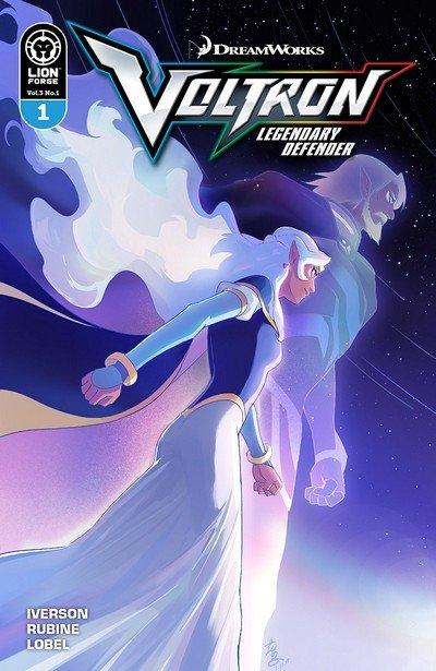 Voltron Legendary Defender Vol. 3 #1 (2018)