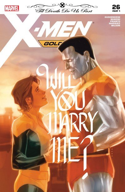 X-Men Gold – The Wedding (Story Arc) (2017-2018)