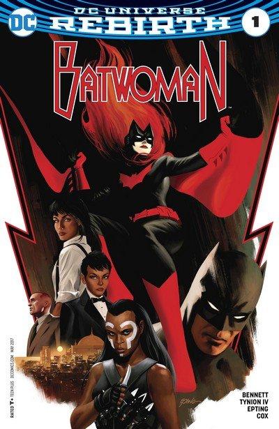 Batwoman Vol. 2 Rebirth #1 + 1 – 18 + TPB (2017-2018)