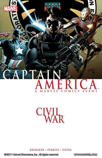Civil War – Captain America (TPB) (2007)