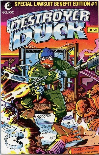 Destroyer Duck #1 – 7 (1982-1984)