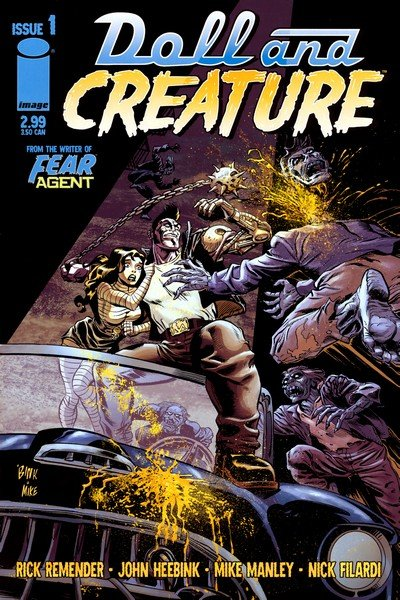 Doll and Creature #1 – 4 (2006)