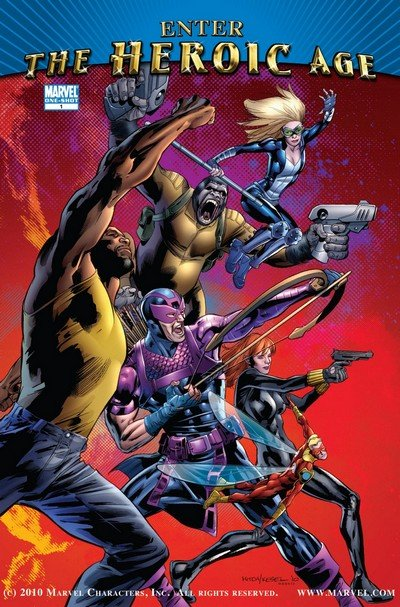 Enter the Heroic Age #1 (2010) (One-Shot)