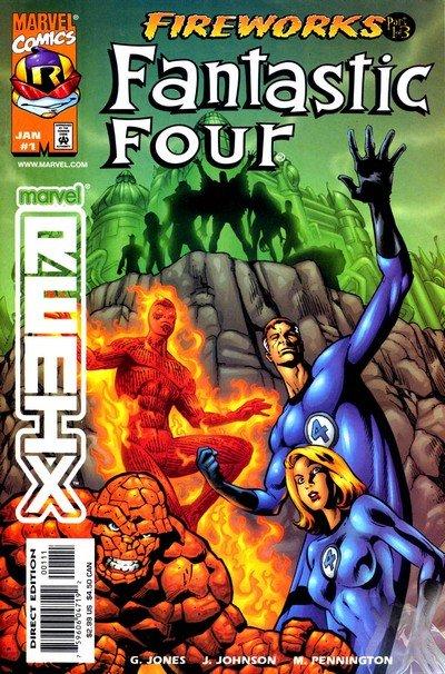 Fantastic Four – Fireworks #1 – 3 (1999)